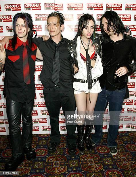 Roxy Saint during Kerrang Awards 2004 Press Conference in London United Kingdom