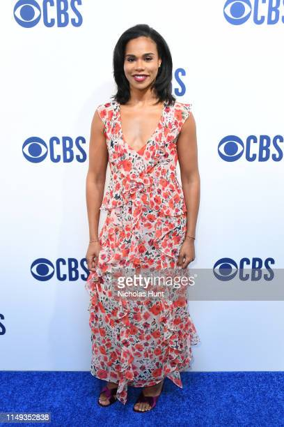 Roxy Sternberg attends the 2019 CBS Upfront at The Plaza on May 15 2019 in New York City