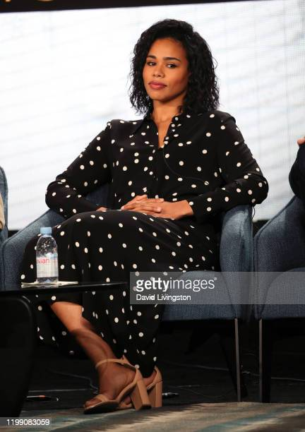 Roxy Sternberg of FBI Most Wanted speaks during the CBS segment of the 2020 Winter TCA Press Tour at The Langham Huntington Pasadena on January 12...