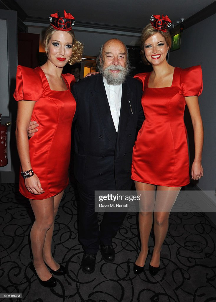 Roy Ackerman attends the opening party of The Red Room, on November 2, 2009 in London, England.