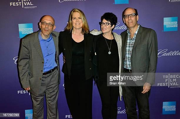 Roy Ackerman director Marina Zenovich Jennifer Lee Pryor and Matt Blank attend the screening of 'Richard Pryor Omit the Logic' during the 2013...