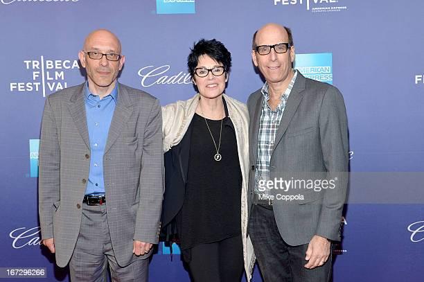 Roy Ackerman Jennifer Lee Pryor and Matthew C Blank attend SHOWTIME'S Richard Pryor Omit The Logic Documentary on April 23 2013 in New York City
