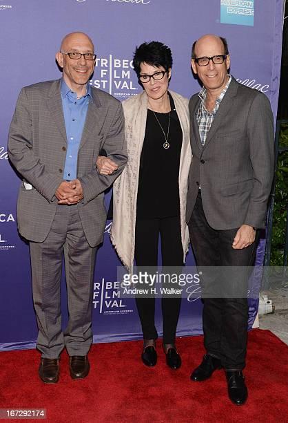 Roy Ackerman Jennifer Lee Pryor and Matthew C Blank attend the 'Richard Pryor Omit the Logic' world premiere during the 2013 Tribeca Film Festival on...