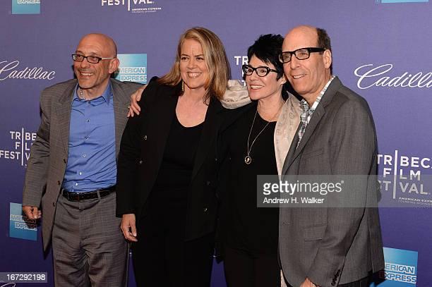Roy Ackerman Marina Zenovich Jennifer Lee Pryor and Matthew C Blank attend the 'Richard Pryor Omit the Logic' world premiere during the 2013 Tribeca...