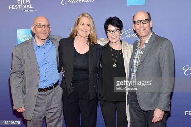 Roy Ackerman Marina Zenovich Jennifer Lee Pryor and Matthew C Blank attend SHOWTIME'S Richard Pryor Omit The Logic Documentary on April 23 2013 in...