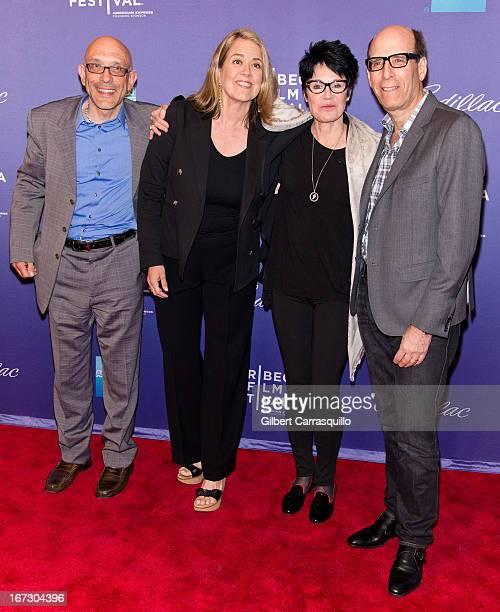 Roy Ackerman Marina Zenovich Jennifer Lee Pryor and Matthew C Blank attend the screening of 'Richard Pryor Omit the Logic' during the 2013 Tribeca...