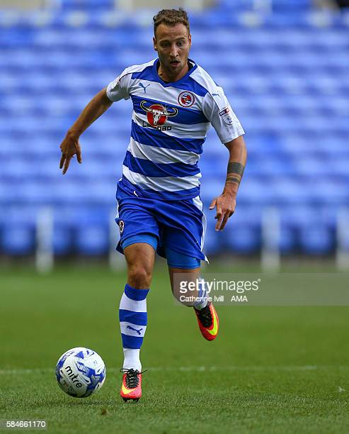 Roy Beerens of Reading during the PreSeason Friendly match between Reading and AFC Bournemouth at Madejski Stadium on July 29 2016 in Reading England