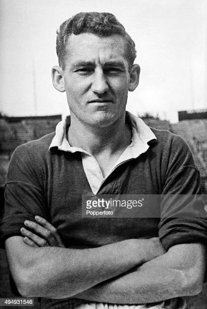 Roy Bentley of Chelsea Football Club, circa 1955.