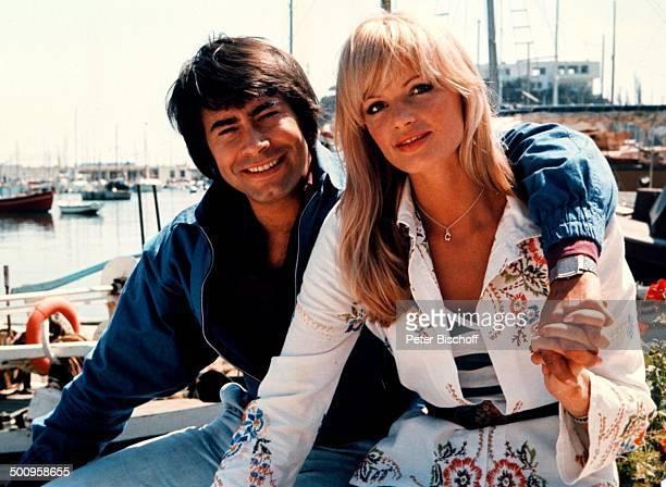 Roy Black mit Ehefrau Silke Vagts Flitterwochen Athen Griechenland Europa Urlaub Sänger Schauspieler Promi RX Sc