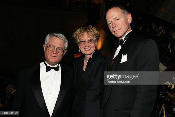 Roy Blount Jr Mary Pope Osborne and Nick Taylor attend Authors Guild Foundation's 14th Annual Benefit Dinner at Metropolitan Club on April 3 2006 in...