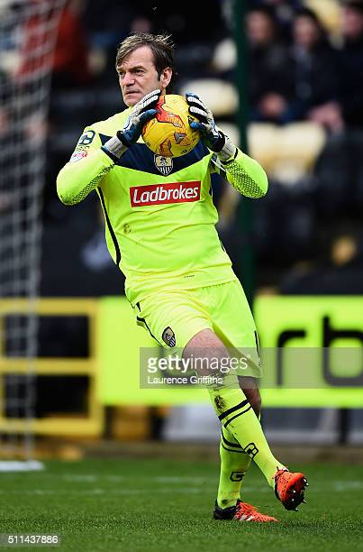 Roy Carroll of Notts County in action during the Sky Bet League Two match between Notts County and Leyton Orient at Meadow Lane on February 20 2016...