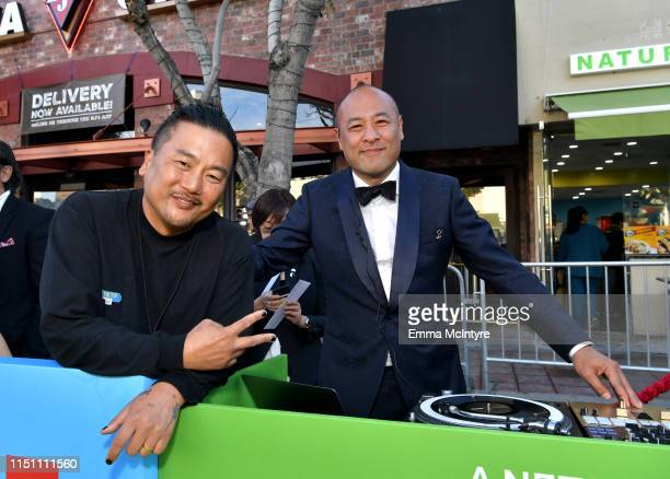 Roy Choi and Dan the Automator attend the world premiere of Netflix's 'Always Be My Maybe' at Regency Village Theatre on May 22 2019 in Westwood...