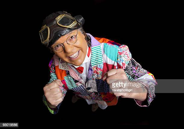 Roy Chubby Brown poses during a photo shoot on November 12 2009 in Scarborough England