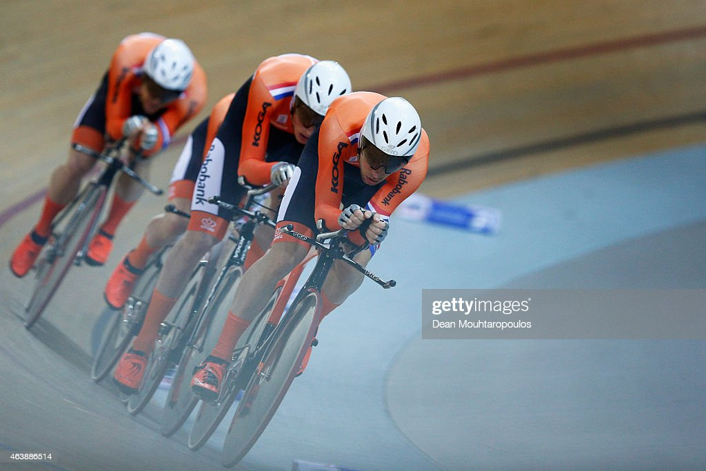 UCI Track Cycling World Championships - Day Two