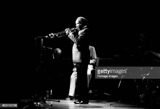 Roy Eldridge, Capital Jazz, Royal Festival Hall, London, July 1985. Artist Brian O'Connor.