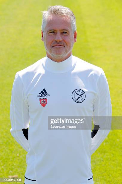 Roy Gebbink of Almere City during the Photocall Almere City at the Yanmar Stadium on July 16 2018 in Almere Netherlands
