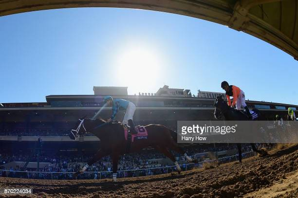 Roy H ridden by Kent Desormeaux wins the Twinspires Breeders' Cup Sprint on day two of the 2017 Breeders' Cup World Championship at Del Mar Race...