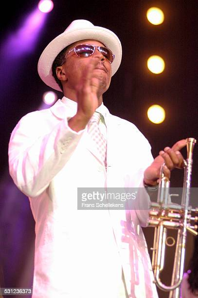 Roy Hargrove, trumpet, performs at the North Sea Jazz Festival on July 9th 2005 in Amsterdam, Netherlands.