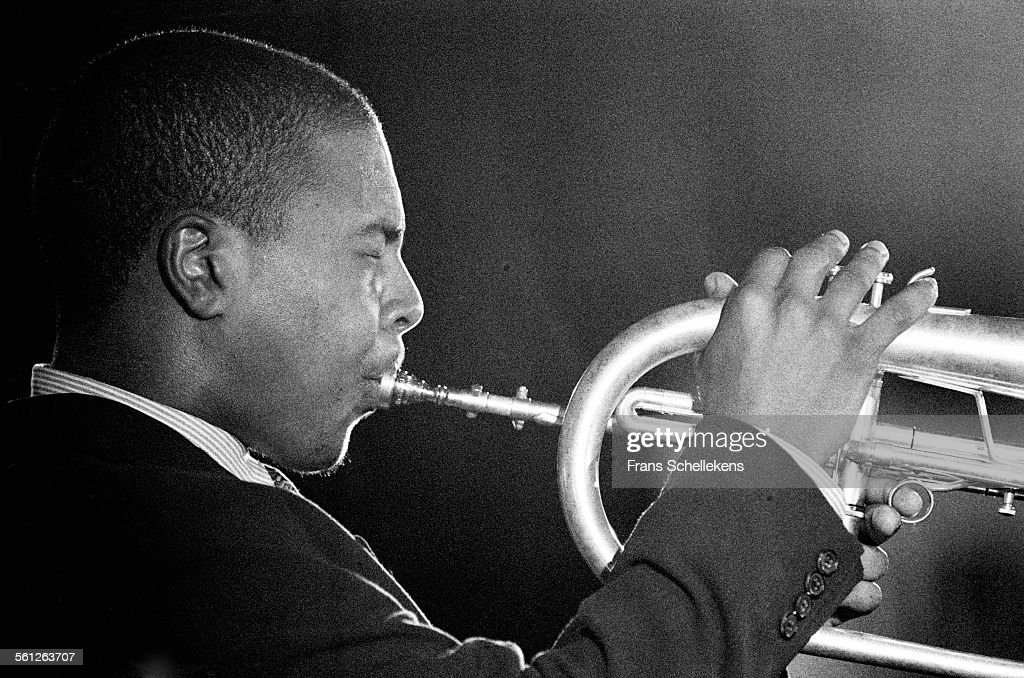 Roy Hargrove, trumpet, performs on July 15th 1995 at the North Sea Jazz Festival in the Hague, Netherlands.