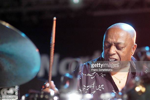 Roy Haynes, drums, performs at the North Sea Jazz Festival on July 10th 2005 in the Hague, Netherlands.