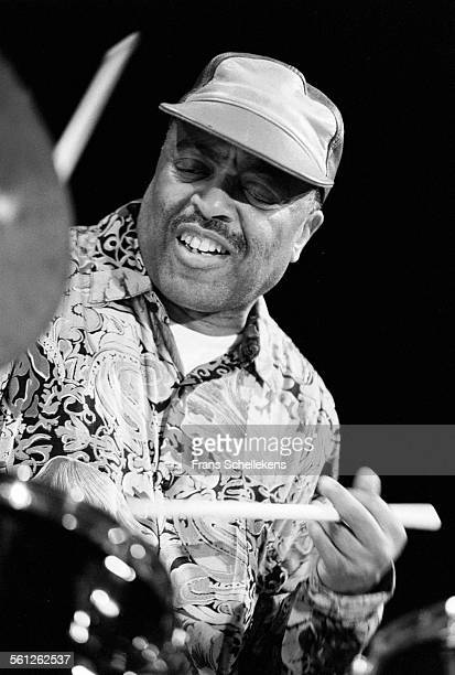 Roy Haynes, drums, performs on April 3rd 1992 at the BIM huis in Amsterdam, Netherlands.