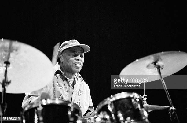 Roy Haynes, drums, performs on May 26th 1995 at the BIM huis in Amsterdam, Netherlands.