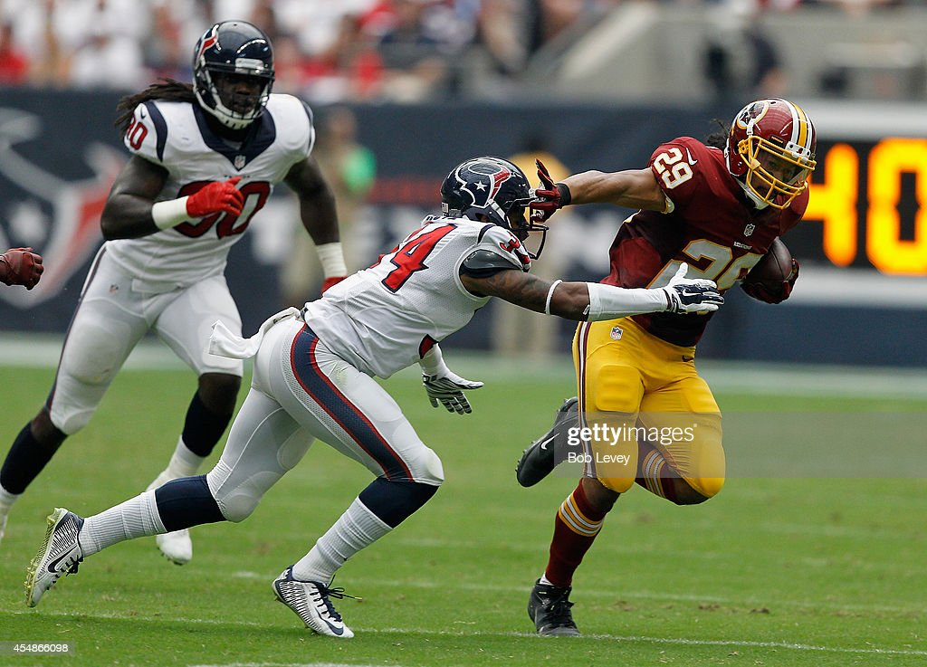 Washington Redskins v Houston Texans