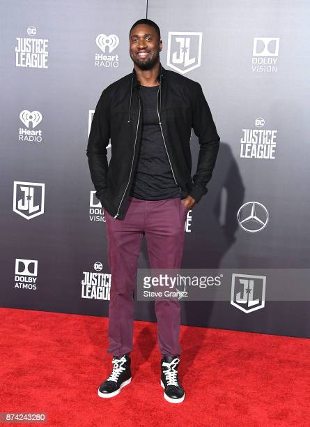 Roy Hibbert arrives at the Premiere Of Warner Bros Pictures' Justice League at Dolby Theatre on November 13 2017 in Hollywood California