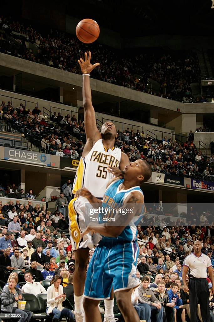 New Orleans Hornets v Indiana Pacers : News Photo
