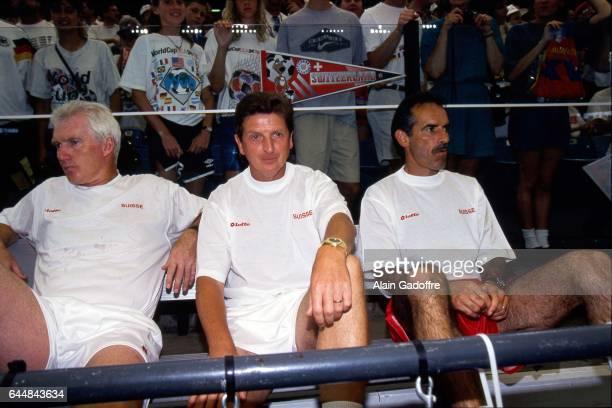 Roy Hodgson Roumanie / Suisse Coupe du Monde 1994 Photo Alain Gadoffre / Icon Sport