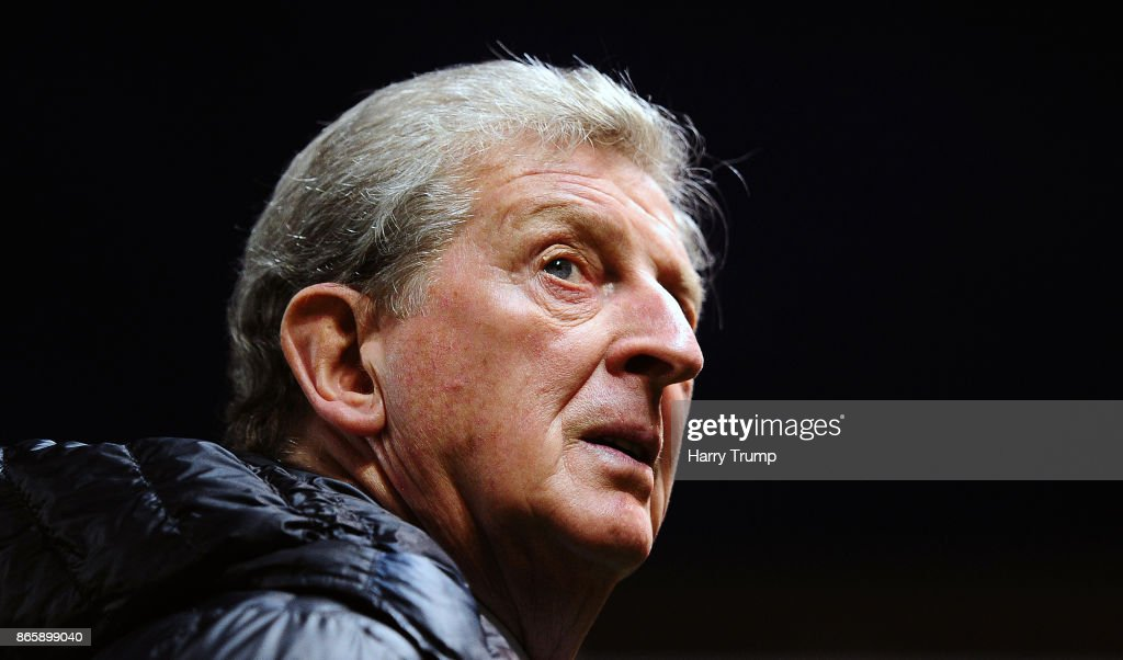 Roy Hodgson, Manager of Crystal Palace during the Carabao Cup Fourth Round match between Bristol City and Crystal Palace at Ashton Gate on October 24, 2017 in Bristol, England.