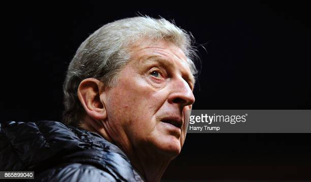 Roy Hodgson Manager of Crystal Palace during the Carabao Cup Fourth Round match between Bristol City and Crystal Palace at Ashton Gate on October 24...