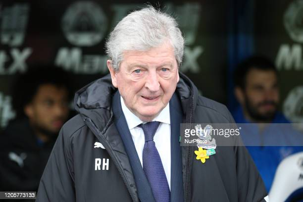 Roy Hodgson manager of Crystal Palace during the Premier League match between Crystal Palace and Watford at Selhurst Park London on Saturday 7th...