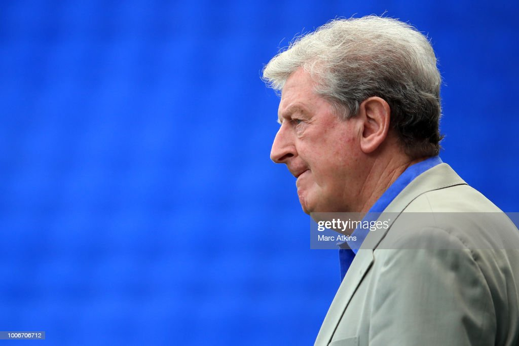Roy Hodgson manager of Crystal Palace during the Pre-Season Friendly between Reading and Crystal Palace at Madejski Stadium on July 28, 2018 in Reading, England.