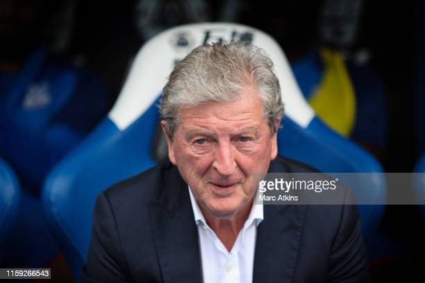 Roy Hodgson manager of Crystal Palace during the Pre-Season Friendly match between Crystal Palace and Hertha BSC Berlin at Selhurst Park on August 3,...