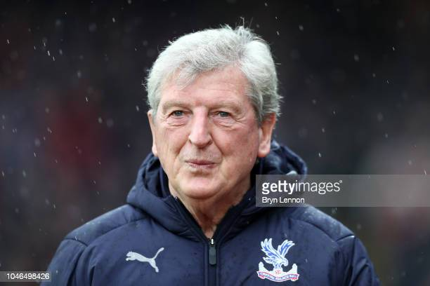 Roy Hodgson Manager of Crystal Palace looks on prior to the Premier League match between Crystal Palace and Wolverhampton Wanderers at Selhurst Park...