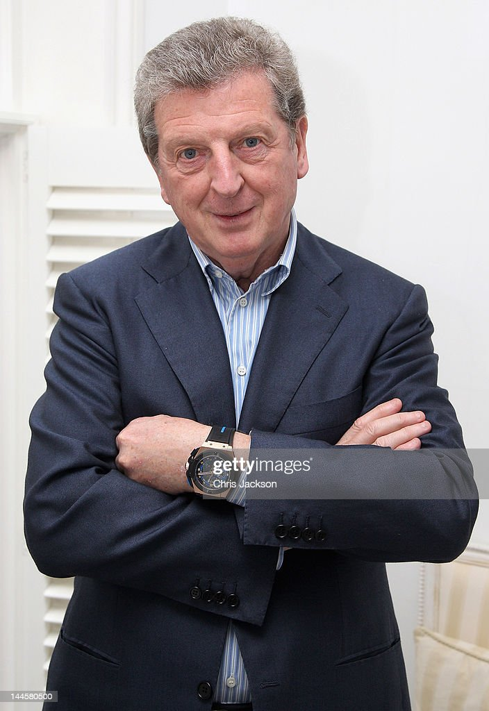 Roy Hodgson Hublot Watch Presentation