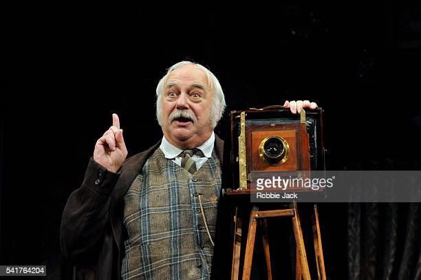 """Roy Hudd as Henry Ormanroyd in the production of J.B.Priestley's 'When We Are Married"""" at the Garriick Theatre in London."""