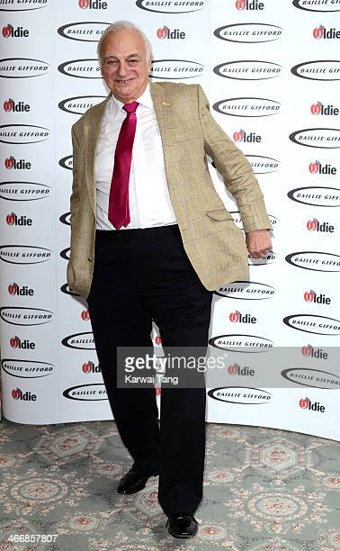 Roy Hudd attends the Oldie of the Year awards at Simpsons in the Strand on February 4 2014 in London England