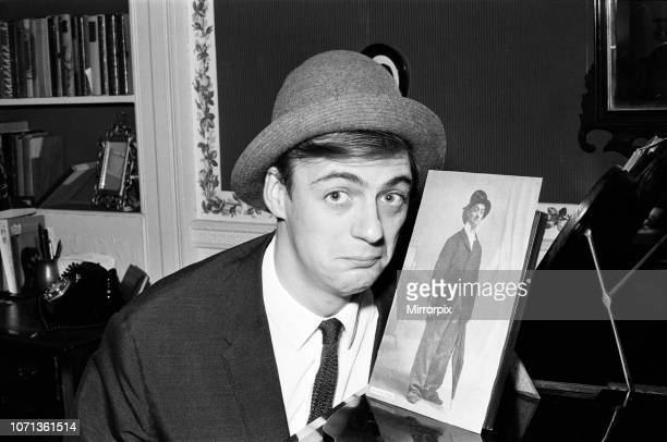 Roy Hudd is now star of his own BBC series entitled simply 'Hudd' Roy is pictured at the home of Dan Leno at Akerman Road Brixton 20th November 1965