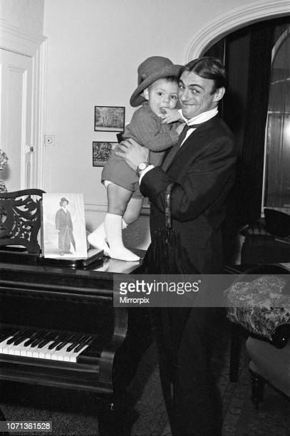 Roy Hudd is now star of his own BBC series entitled simply 'Hudd' Roy is pictured at the home of Dan Leno in Brixton with his son Max 20th November...