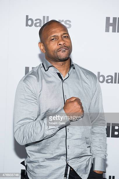"Roy Jones Jr. Attends the HBO and ABFF ""Ballers"" celebration at The Skylark on June 12, 2015 in New York City."
