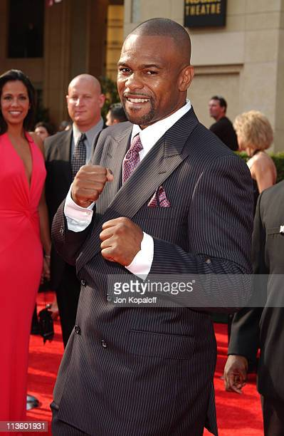 Roy Jones Jr during 2003 ESPY Awards Arrivals at Kodak Theatre in Hollywood California United States