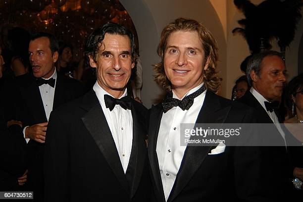 Roy Kean and Eric Javits attend Geoffrey Bradfield's Birthday Celebration at Private Residence on September 21 2006 in New York City