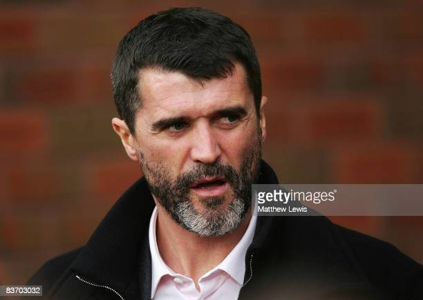 Roy Keane manager of Sunderland looks on during the Barclays Premier League match between Blackburn Rovers and Sunderland at Ewood Park on November...