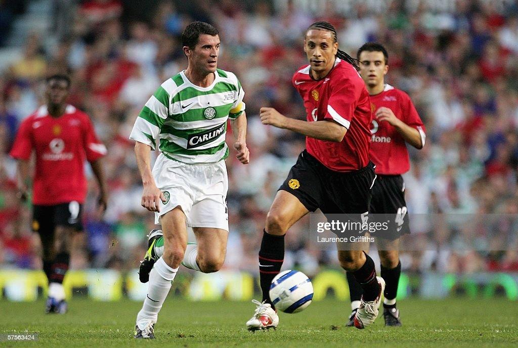 Roy Keane Testimonial: Manchester United v Celtic : News Photo