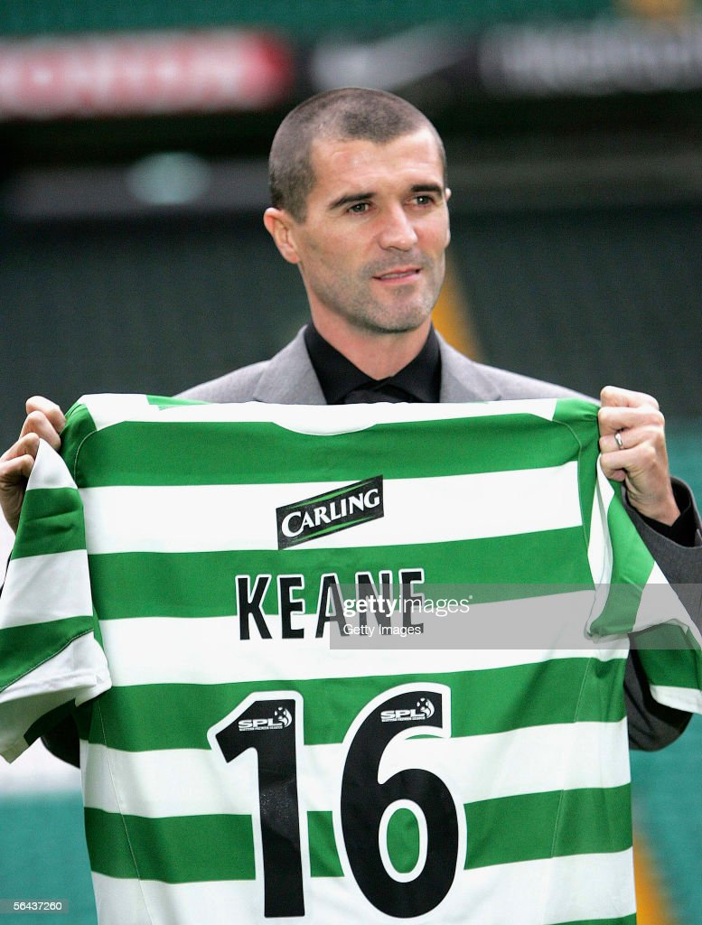 Roy Keane Signs for Celtic : News Photo