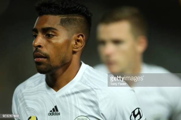 Roy Krishna of the Phoenix during the round 21 ALeague match between the Central Coast Mariners and the Wellington Phoenix at Central Coast Stadium...