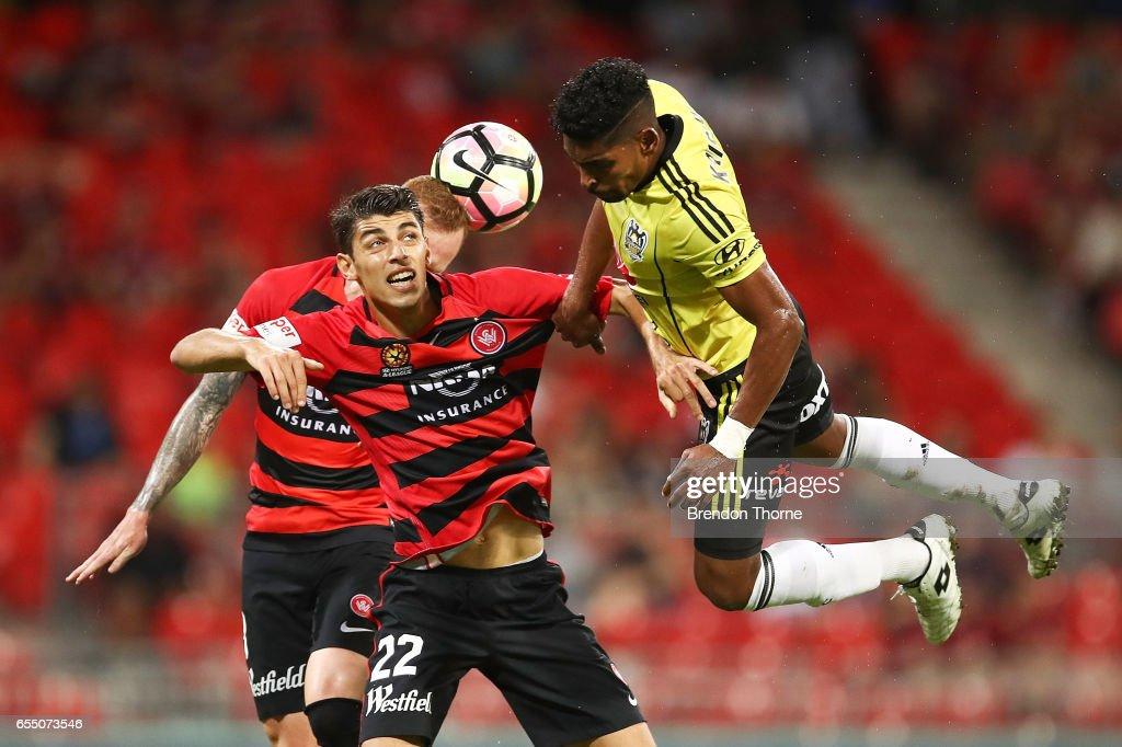 A-League Rd 23 - Western Sydney v Wellington