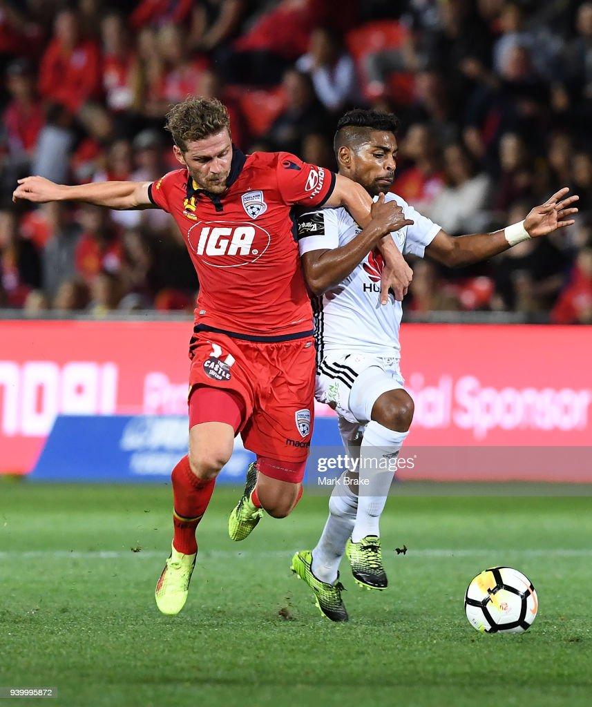 A-League Rd 25 - Adelaide v Wellington